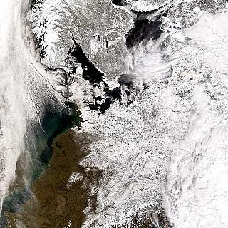 Europa versinkt im Schnee