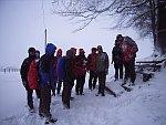 Schneesturm am Zirkelstein